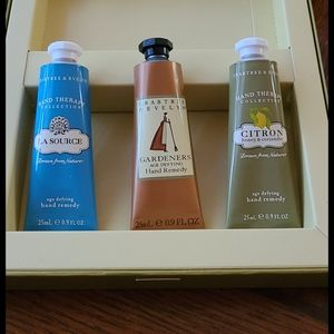 Crabtree and Evelyn hand creams